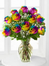 UNIQUENESS LOVE RAINBOW ROSES