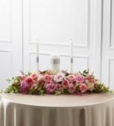 Unity Candle Arrangement Fresh Flowers