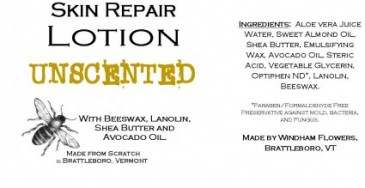 UNSCENTED Made from Scratch Natural Hand Lotion Our own luxurious shea butter, beeswax and lanolin hand lotion !