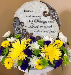 Unseen and Unheard But Always Near  in Springfield, IL | FLOWERS BY MARY LOU