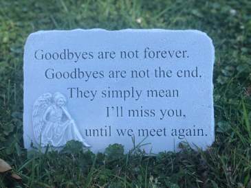 Until We Meet Again Sympathy Keepsake
