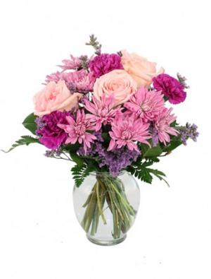 Look Lively! Lavender Arrangement in Ozone Park, NY | Heavenly Florist