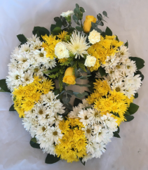 Uplifting Memories Funeral Wreath