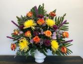 Uplifting Shades Funeral Urn