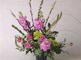Uplifting Spring Arrangement