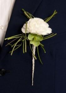 Upscale Carnation Boutonniere