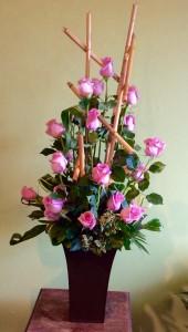 Upscale Roses roses in La Porte, TX | Compton's Florist