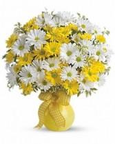 Upsy Daisy Vase Arrangement