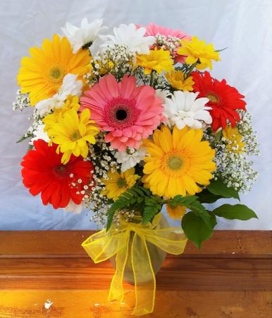 Upsy-Daisy Vase Arrangement