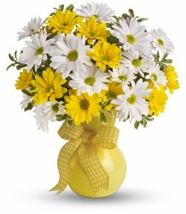 Upsy Daisy Vase  Arrangment