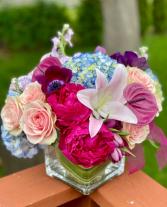 Uptown Girl Flower Arrangement