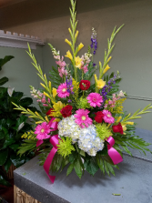 Upward Flight Funeral Basket