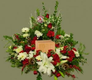 Urn Wreath Funeral in Ware, MA | OTTO FLORIST & GIFTS