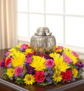 Urn Wreath Sympathy