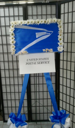 USPS Remembering You Standing Emblem