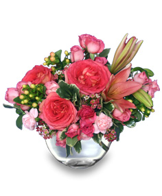 LOVING EMBRACE  Flower Vase
