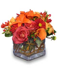 Seasonal Potpourri Fresh Fl Design In Burton Mi Bentley Florist Inc