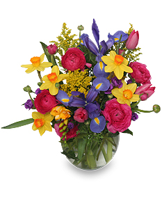 SPRING PROMISES Flower Bouquet in Bethesda, MD | Ariel Bethesda Florist & Gift Baskets