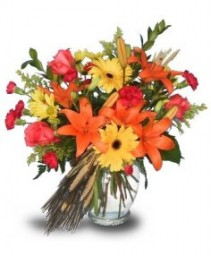 FALL'S AMBIANCE Flower Vase