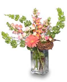 EARLY SPRING MORNING Flower Vase