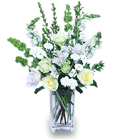 COOL WINTERGREEN Flowers in a Vase in Toronto, ON | THE NEW LEAF FLOWERS & GIFTS