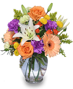 Celebrate! Bouquet in Lewiston, ME | BLAIS FLOWERS & GARDEN CENTER