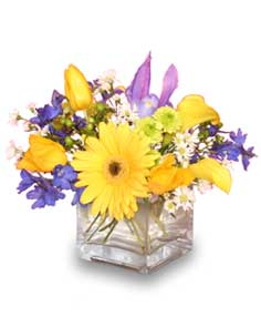 SUNSHINY DAY Floral Bouquet in Caldwell, ID | Bayberries Flowers & Gifts