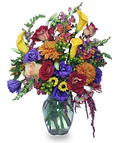 FLOWER STILL LIFE Arrangement in Riverside, CA | Willow Branch Florist of Riverside