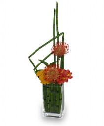 HIGH-STYLE HORSETAIL Flower Arrangement