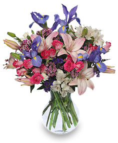 Showered with Love Fresh Flowers in Lincroft, NJ | Lincroft FAB Florist & Gifts/Silver Tulip Florist