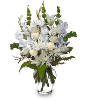 PEACEFUL COMFORT Flowers Sent to the Home in Airdrie, AB | Flower Whispers