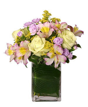 JOYOUS AWAKENING Flower Vase in Fitchburg, MA | CAULEY'S FLORIST & GARDEN CENTER