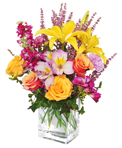 FLIRTY FLORALS Arrangement