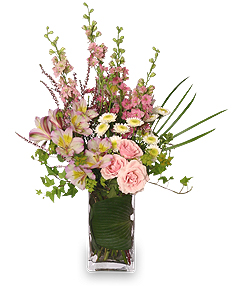 It's A Girl! Bouquet Fresh Flowers in Carthage, TX | CARTHAGE FLOWER SHOP