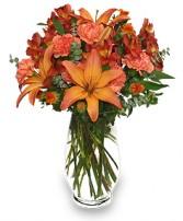 WARM CINNAMON SPICE Floral Arrangement