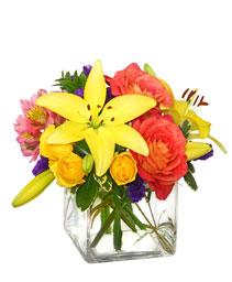 Sweet Success Vase of Flowers