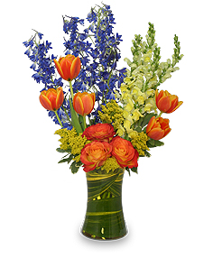 FALL EXTRAVAGANZA Bouquet of Flowers in Burlington, NC | STAINBACK FLORIST & GIFTS