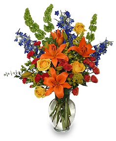 AWE-INSPIRING AUTUMN Floral Arrangement in Presque Isle, ME | COOK FLORIST, INC.