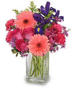 Suddenly spring flower arrangement in schenectady ny flowers by suddenly spring flower arrangement mightylinksfo