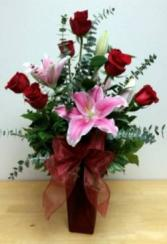 TRUE LOVE Vase Arrangement