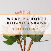 VAL21 Designers Choice Wrapped Bouquet