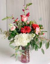Valantine Special #4 Valentine Fresh Flower Arrangement