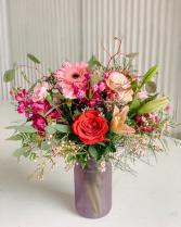 Valentine Special #5 Valentine Fresh Flower Arrangement