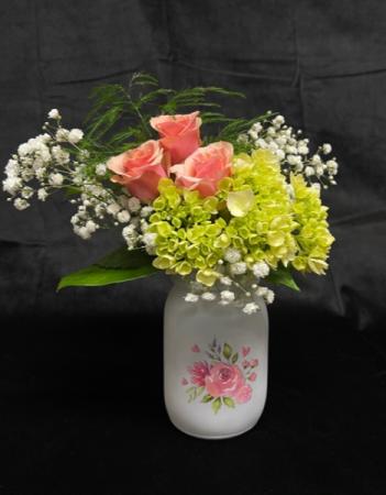Painted Lady Flower Arrangement