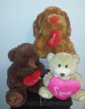 Valentine-Assorted Stuffed Animal