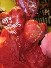 Valentine Balloon Bouquet Balloon