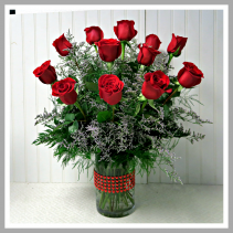 Be My Valentine  Other colors available. Vase will be different