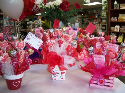 Valentine Candy Bouquet U0026 Balloon Gourmet
