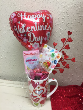 Valentine Candy Bouquet Candy