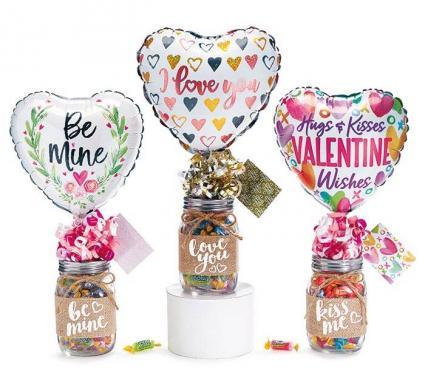 Valentine Candy Jar Giftable
